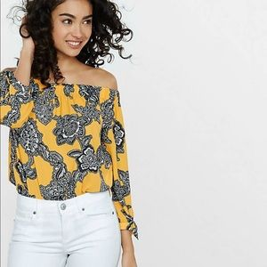 Express Off the Shoulder blouse large